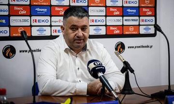 Γιατράς: «Στόχος η κατάκτηση του Κυπέλλου Ελλάδας»