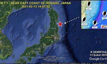 Ιαπωνία: Σεισμός 7.1 Ρίχτερ στα ανοιχτά της Φουκουσίμα