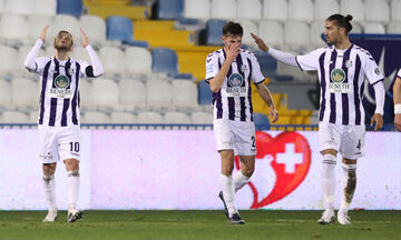 Απόλλων Σμύρνης - Ατρόμητος: Το 1-0 με σκόρερ τον Μπεντινέλι (vid)