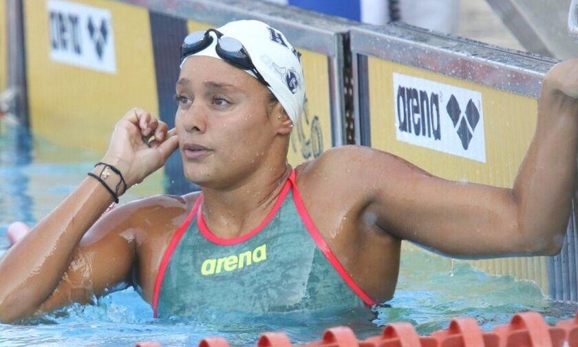 Κολύμβηση: Πανελλήνιο ρεκόρ η Σαχά
