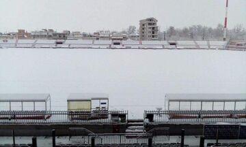 ΑΕΛ - ΑΕΚ: Στον αέρα το ματς λόγω έντονης χιονόπτωσης