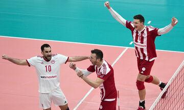 Ολυμπιακός-Φοίνικας Σύρου  3-0:  «Ντέρμπι» 81 λεπτών! (highlights)