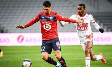 Ligue 1: «Άσφαιρη», αλλά πρωτοπόρος η Λιλ, 0-0 στο Μπορντό η Μαρσέιγ, των 9 παικτών (highlights)