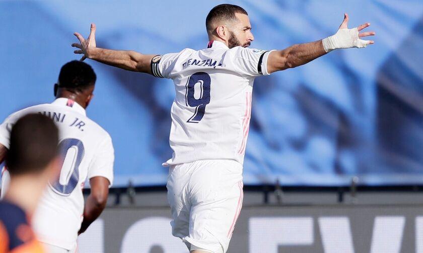 Ρεάλ - Βαλένθια: Με γκολ των Μπενζεμά, Κρος 2-0 στο ημίχρονο (vid)