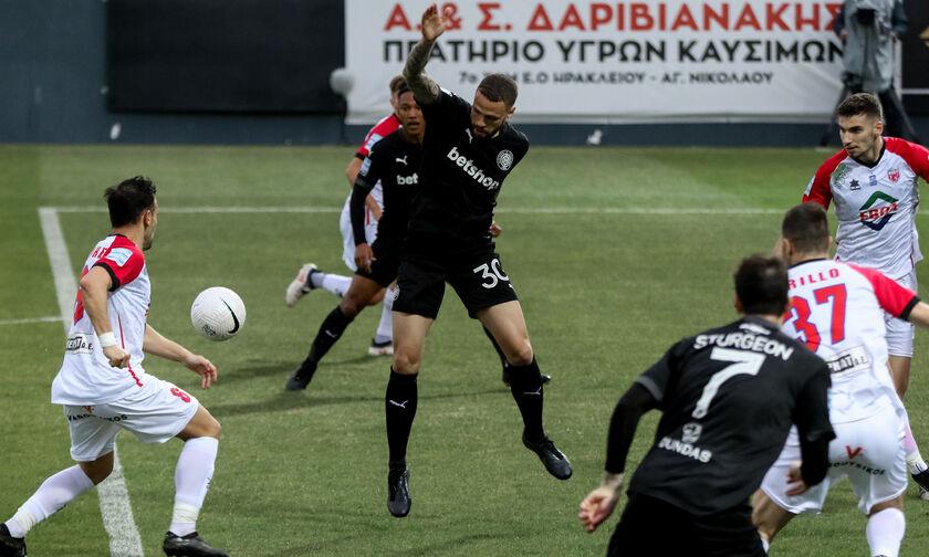 ΟΦΗ - Βόλος: Το γκολ του Καστάνιος για το 1-2 (vid)