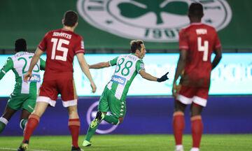 Παναθηναϊκός - Ολυμπιακός: Το γκολ του Μαουρίσιο για το 1-0 (vid)