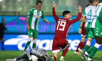 Παναθηναϊκός - Ολυμπιακός 2-1: Η ανεπανάληπτη χαμένη ευκαιρία του Μασούρα  για το 2-2 (vid)