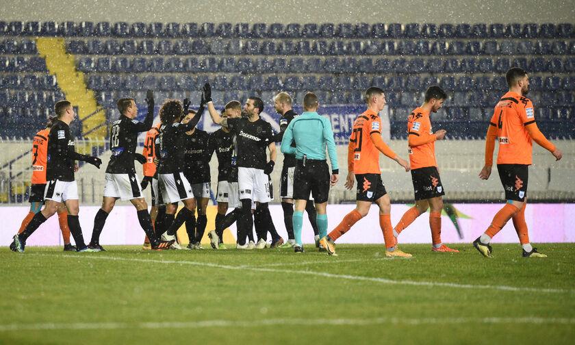 ΠΑΣ Γιάννινα - ΠΑΟΚ 0-2: «Ξελάσπωσε» στο Περιστέρι (highlights)