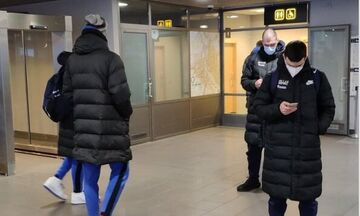 Εθνική ομάδα: Έφτασε στη Ρίγα για τα παιχνίδια με Βοσνία και Λετονία (pics)