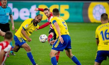 La Liga: Τεσσάρα η Μπιλμπάο στην Κάντιθ (highlights)