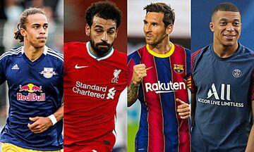 Champions League: Με Λειψία η Λίβερπουλ, Μπαρτσελόνα - Παρί και στη μέση ο... Μέσι!