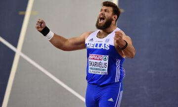 Νικόλας Σκαρβέλης: Ακύρωσε τη συμμετοχή του στο Ευρωπαϊκό Πρωτάθλημα κλειστού στίβου