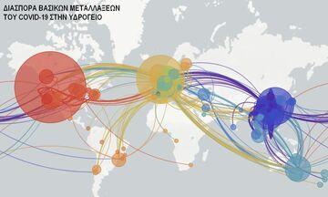 Πανδημία - Ο χάρτης των μεταλλάξεων