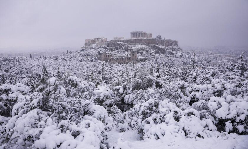 Καιρός: Έως το πρωί της Τετάρτης (17/2) χιονοπτώσεις σε Αττική-Εύβοια-Κυκλάδες-Κρήτη