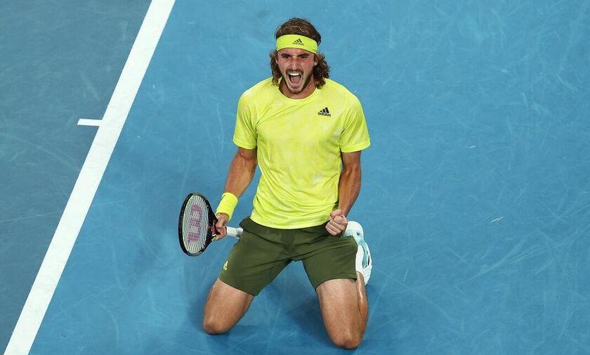 Τσιτσιπάς - Ναδάλ 3-2: Στα ημιτελικά του Australian Open με μυθική ανατροπή!