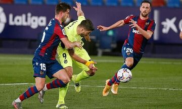 La Liga: H Aτλέτικο Μαδρίτης σκόνταψε στη Λεβάντε (Highlights)
