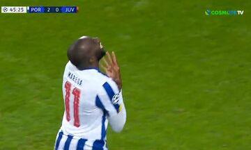 Πόρτο-Γιουβέντους: Το 2-0 με τον Μαρεγκά (vid)