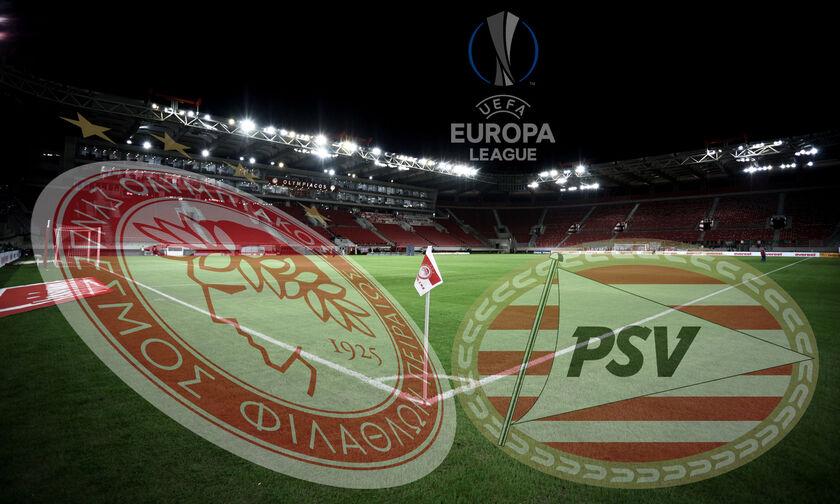 Ολυμπιακός - PSV Αϊντχόφεν  4-2 Olympiacos-eindhoven