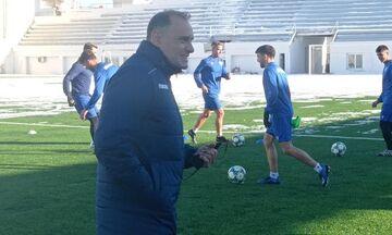 Βεργέτης: «Θα βρεθούμε ξανά ποδοσφαιρικά, θα κάνουμε αυτό που αγαπάμε»