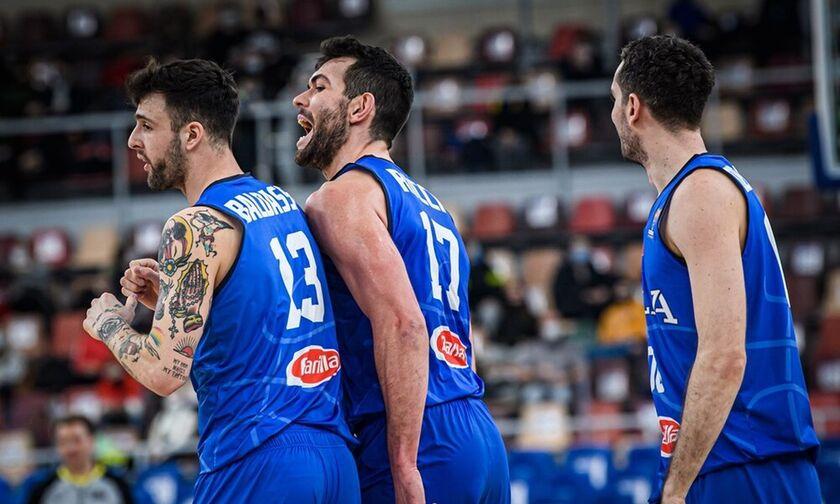 Προκριματικά Ευρωμπάσκετ 2022: Νίκες για Ιταλία και Σλοβενία