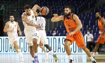 EuroLeague: Ξεχωρίζει το Βαλένθια - Ρεάλ Μαδρίτης