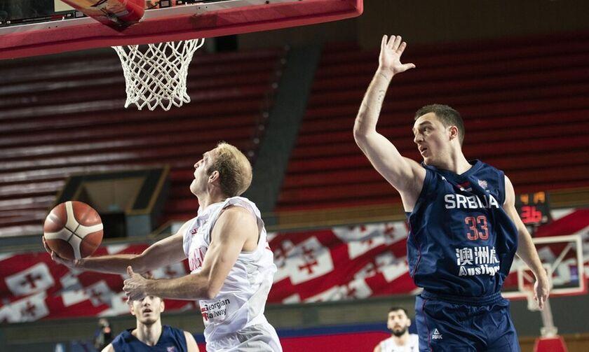 Προκριματικά Ευρωμπάσκετ: Πρόκριση για τη Σερβία, 92-66 την Γεωργία