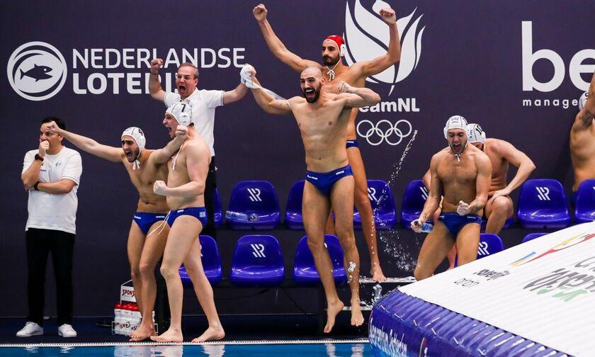 Προολυμπιακό τουρνουά πόλο ανδρών: Αντίπαλος της Εθνικής η Ρωσία – Τι γίνεται σε περίπτωση ήττας