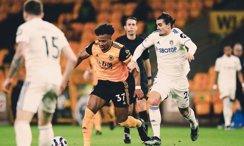 Premier League: Με ήρωα τον Πατρίσιο η Γουλβς νίκησε τη Λιντς (Highlights)