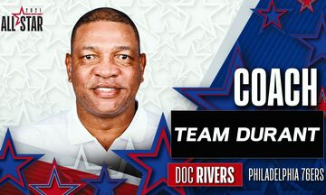 ΝΒΑ All Star Game : Προπονητής, στην «ομάδα Ντουράντ» του Αντετοκούνμπο, ο Ντοκ Ρίβερς