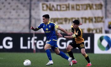 AEK - Αστέρας Τρίπολης 2-2: Τα τέσσερα γκολ της αναμέτρησης! (vids)