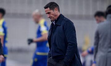 Χιμένεθ: «Κάναμε δώρο τα δύο γκολ στον Αστέρα Τρίπολης»