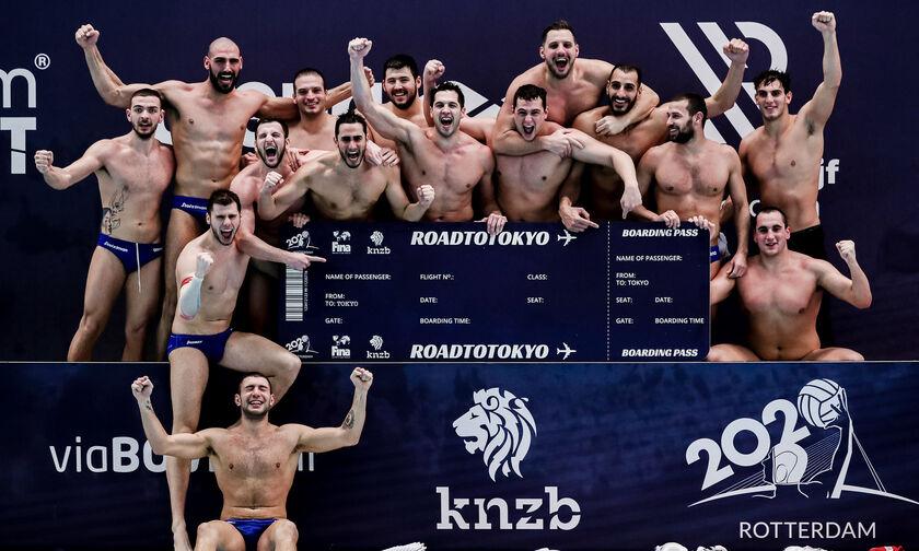 Πόλο: Την Κυριακή (21/2) η κλήρωση για τους Ολυμπιακούς Αγώνες