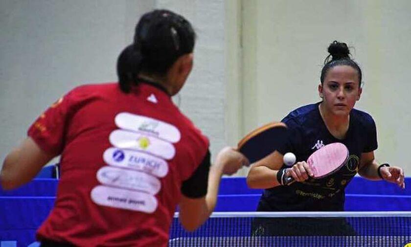 Πινγκ Πονγκ: Πρώτες νίκες για την Τόλιου στην Α1 κατηγορία της Ιταλίας