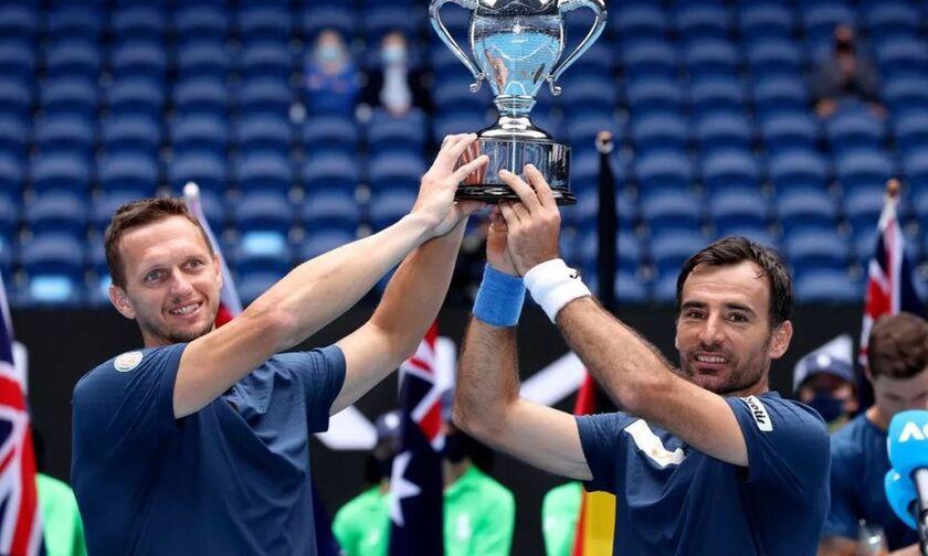 Australian Open: Ντόντιτς και Πόλασεκ κατέκτησαν το διπλό