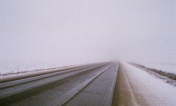 Μποτιλιάρισμα στη λεωφόρο Πάρνηθος - Διακοπή της κυκλοφορίας από την τροχαία