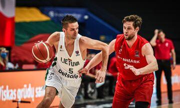 Προκριματικά Ευρωμπάσκετ 2022: Πέρασαν Εσθονία και Λιθουανία- Εκτός Βόρεια Μακεδονία και Δανία (vid)