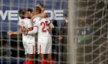 La Liga: Άνετο διπλό για τη Σεβίλλη (highlights)