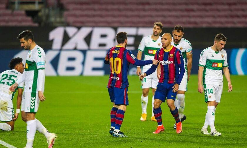Μπαρτσελόνα - Έλτσε: Ο Μέσι - ξανά- τη λύση και 1-0 οι Καταλανοί (vid)