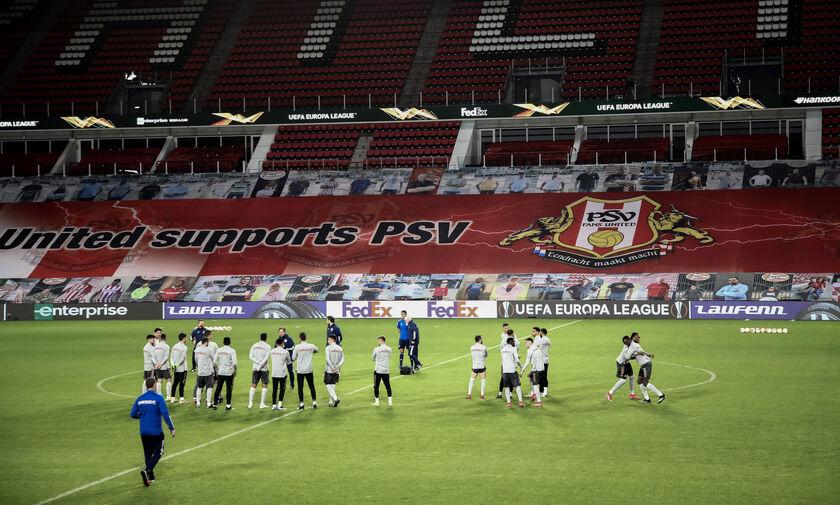 Αϊντχόφεν-Ολυμπιακός: Βίντεο από την προπόνηση στο Philips Stadion (vids)