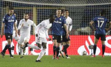Αταλάντα - Ρεάλ Μαδρίτης 0-1: Ξεκλείδωσε την πρόκριση με Μεντί (Highlights)!