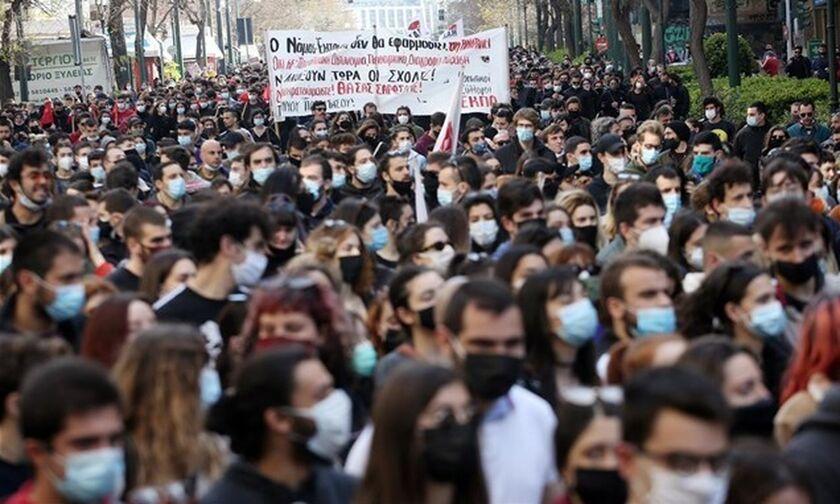Αθήνα: Ολοκληρώθηκε το Πανεκπαιδευτικό Συλλαλητήριο - Ανοίγουν οι δρόμοι