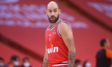 Ολυμπιακός - ΤΣΣΚΑ Μόσχας: Έφτασε τις 350 συμμετοχές στη EuroLeague ο Σπανούλης (vid)