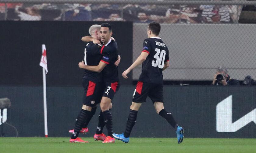Αϊντχόφεν – Ολυμπιακός: Πάλι ο Ζάχαβι (1-0) το γκολ (vid)