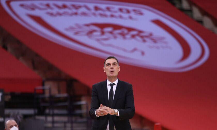 Ολυμπιακός - ΤΣΣΚΑ 74-75 - Μπαρτζώκας: «Η προσπάθεια μας ήταν αξιέπαινη - Είχαμε δύο πρόσωπα»