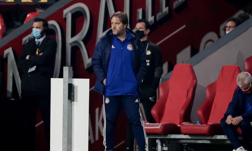 Αϊντχόφεν-Ολυμπιακός 2-1: Μαρτίνς: «Ήταν δίκαιο να προκριθούμε»