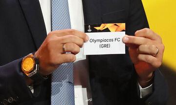LIVE Streaming: H κλήρωση του Ολυμπιακού στο Europa League (14:00)