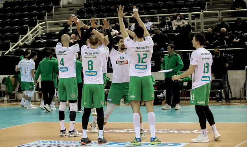 Volley League Ανδρών: Ορίστηκε για την Κυριακή (28/2) το Παναθηναϊκός - Φίλιππος Βέροιας