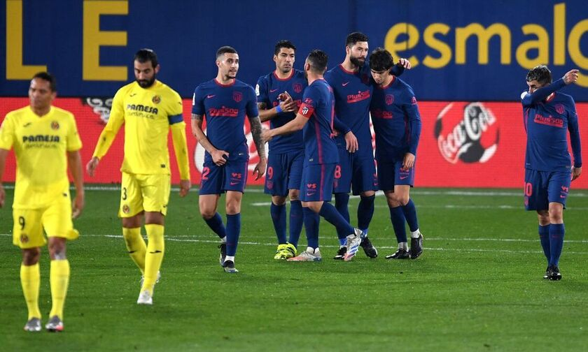 La Liga: Επιστροφή στις νίκες για Ατλέτικο, με ...βύθιση του «κίτρινου υποβρυχίου» (highlights)!