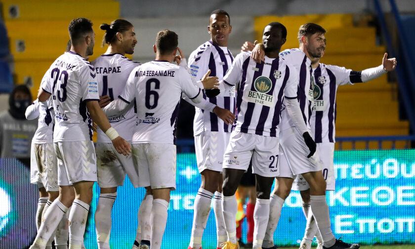 Απόλλων Σμύρνης - ΟΦΗ: Το γκολ του Ντάουντα για το 1-0 (vid)