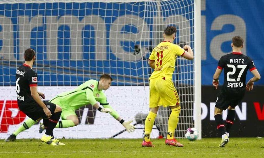 Βundesliga: Δεν είχαν... αντίδοτο ούτε στην Φράιμπουργκ οι «ασπιρίνες» της Λεβερκούζεν (highlights)!